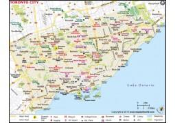 Toronto Map - Digital File