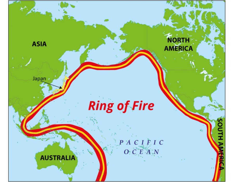 Buy Ring Of Fire Map