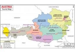 Austria Travel Map - Digital File