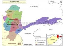 Badakhshan Map - Digital File