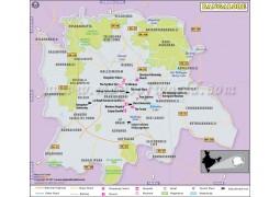 Bangalore Map - Digital File