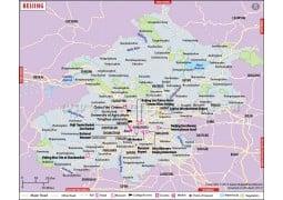 Beijing City Map - Digital File