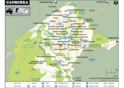 Canberra City Map - Digital File