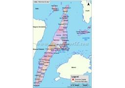 Cebu Map - Digital File
