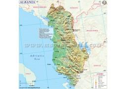 Albania Map - Digital File