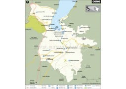 Como City Map - Digital File