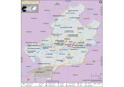 Frankfurt Map - Digital File