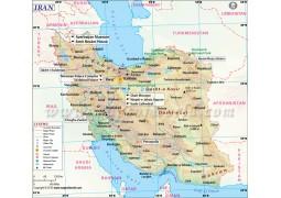 Iran Map - Digital File