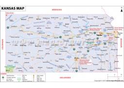 Kansas Map - Digital File