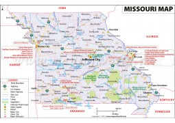 Map of Missouri - Digital File
