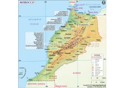 Morocco Map - Digital File