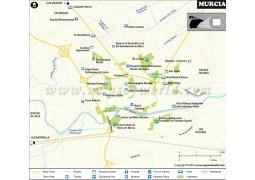 Murcia Map - Digital File
