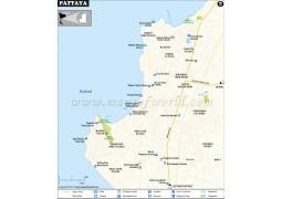 Pattaya Map - Digital File