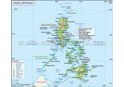 Philippines Map - Digital File