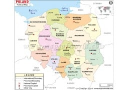 Political Map of Poland - Digital File