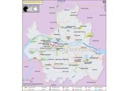 Regensburg Map, Germany