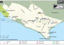 Rota City Map - Digital File