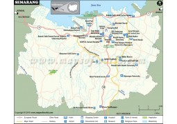 Semarang City Map - Digital File