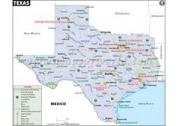 Texas Map - Digital File