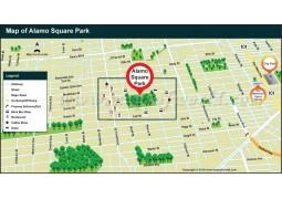 Alamo Square Map - Digital File