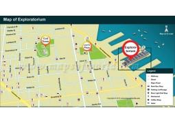 Exploratorium Map - Digital File