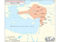 Hittite Empire Map