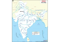 India River Map - Digital File