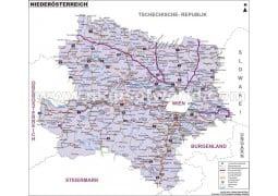Niederösterreich Karte - Digital File