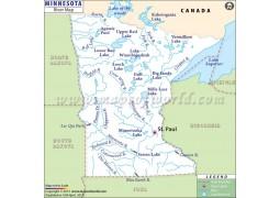 Minnesota River Map - Digital File