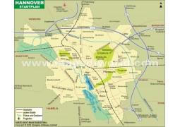 Stadtplan Hannover - Digital File