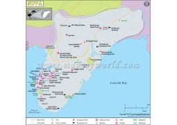 Suva Map - Digital File