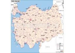 Turkey Road Map - Digital File