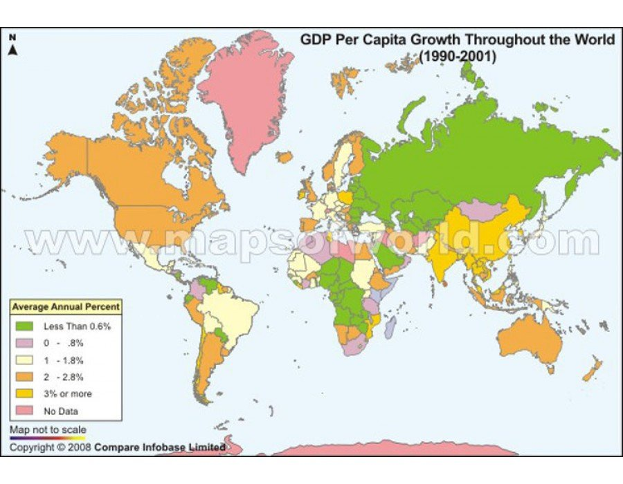 an analysis of the population growth in the third world countries