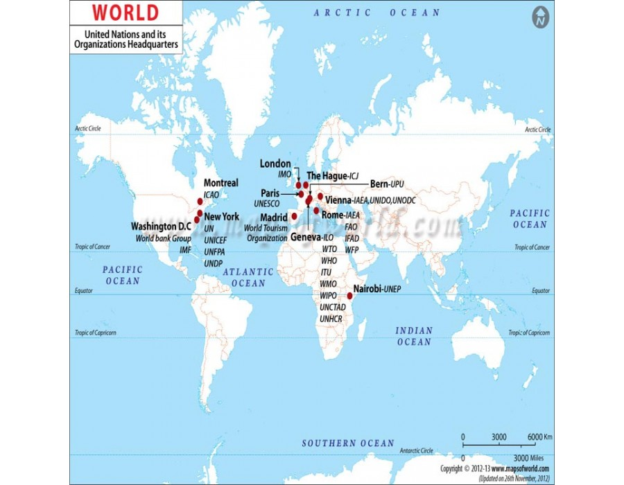 Buy united nations organizations headquarters map united nations organizations headquarters map gumiabroncs Gallery