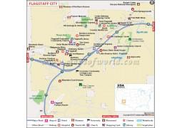 Flagstaff City Map