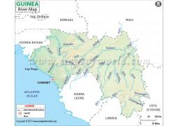 Guinea River Map - Digital File