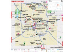 Indianapolis City Map