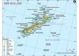 New Zealand Map - Digital File