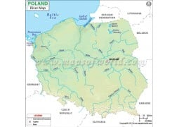 Poland River Map