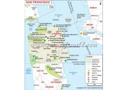 San Francisco City Map - Digital File