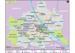 Vienna Map - Digital File