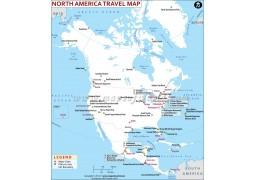 North America Travel Map