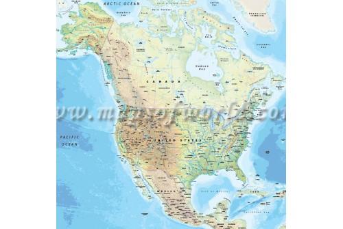 US Map with Alaska