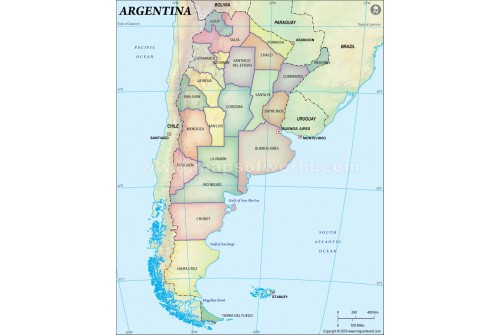 Buy Argentina Maps - Argentina map outline