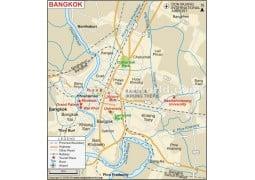 Bangkok Map - Digital File