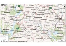 Berlin Map - Digital File