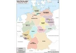 Deutschland Politische  - Digital File