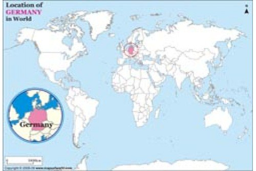 Buy Germany Location Map – Germany Map Location
