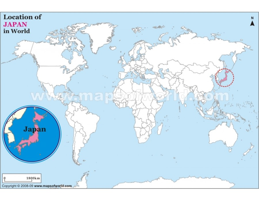 Buy japan location on world map japan location on world map gumiabroncs Gallery