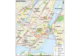 Montreal Map - Digital File